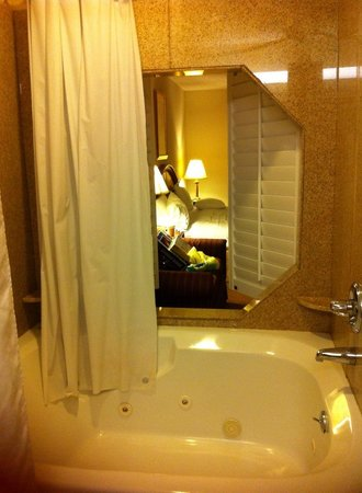 Red Roof Inn Evansville: jacuzzi room