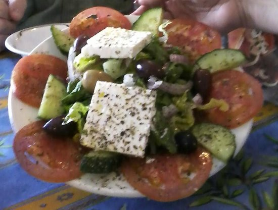 Greek Grille & Gallery: American Greek Salad