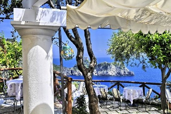 terrazza di calajanara - Foto di Calajanara, Conca dei Marini ...