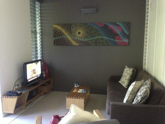Peppers Noosa Resort and Villas: lounge room