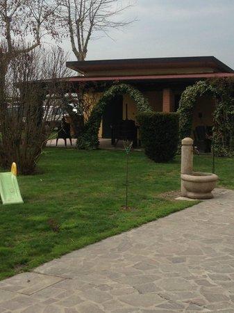 Corte Vaia: Parco della Villa