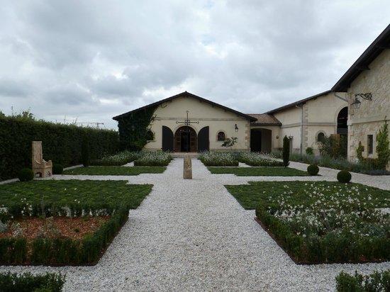 Château Pape Clément: Está es la bodega, donde se hace la visita