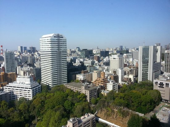 view from room on 31st floor picture of hotel new otani. Black Bedroom Furniture Sets. Home Design Ideas