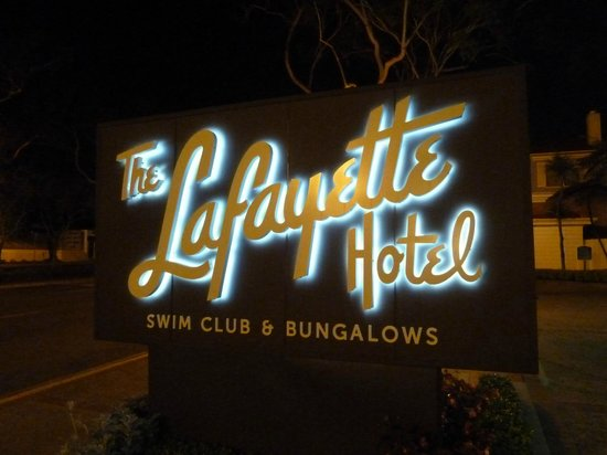 The Lafayette Hotel, Swim Club & Bungalows: Logo