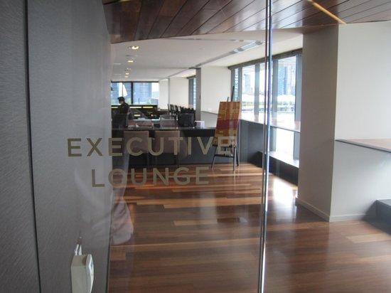 Hilton Melbourne South Wharf: Executive Lounge