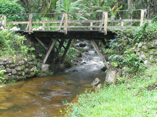Parador Lumiar: Ponte romântica