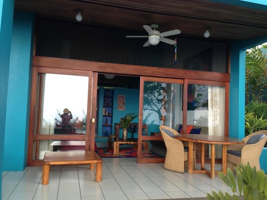 Xandari Resort & Spa : Patio area of room nr 4