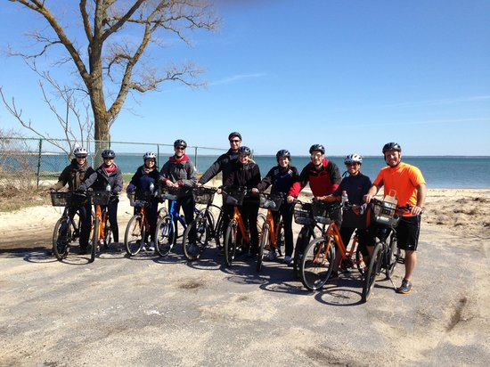North Fork Bicycle Tours: Group Photo