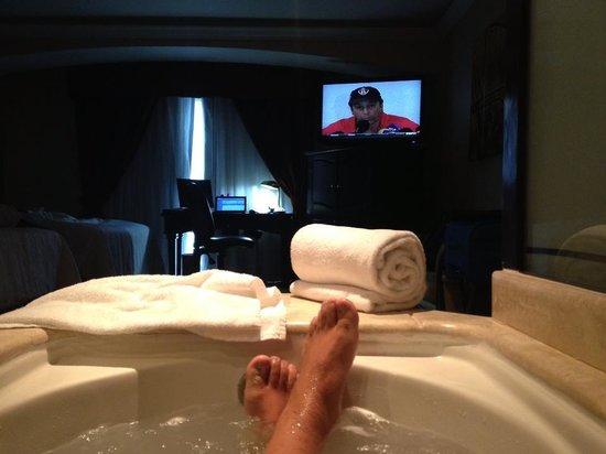 Crowne Plaza Hotel de Mexico: Hidromasaje integrable a la habitación!