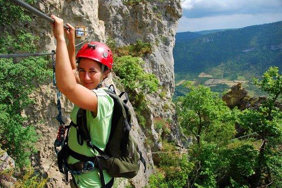 Tourisme Actif : Via-ferrata-Florac