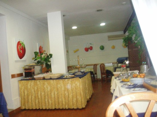 Hotel Eden Park : Restaurant for breakfast