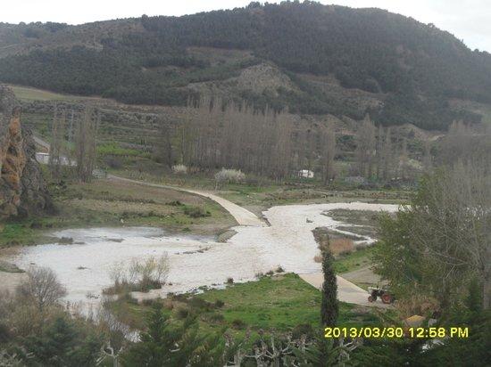 Fitero, Spain: vista del rio alhama