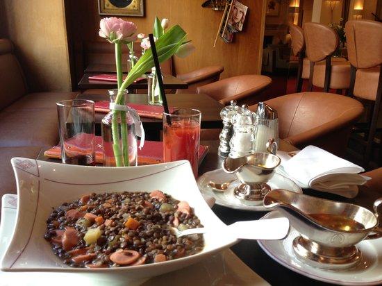 Kastens Hotel Luisenhof: Lentil Stew i love so much!