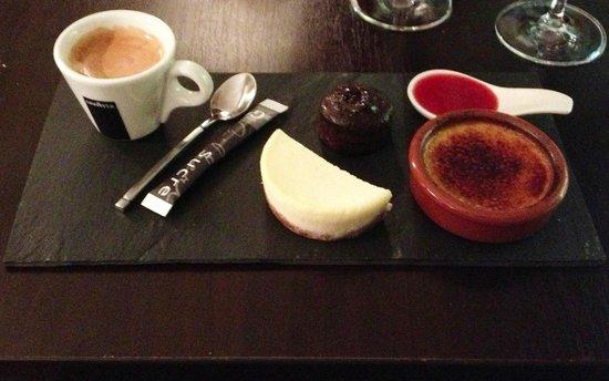 L'Instant Fromage : café gourmand