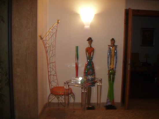 Hotel Eden Park: nice decoration