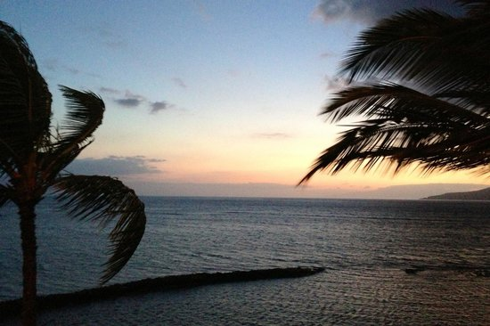Menehune Shores: Our balcony view