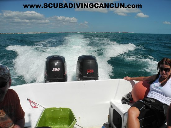 Cancun Scuba For You: fast