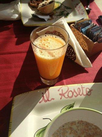 B&B Il Roseto: colazione