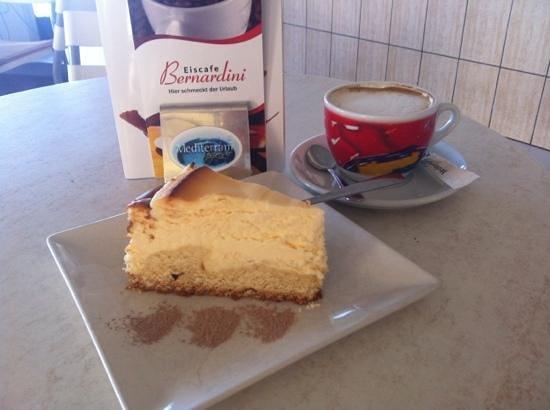 Heladeria Bernardini: Bester Käsekuchen der Welt !!!