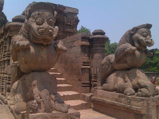 Konark, India: the grand entrance