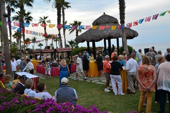 Hacienda del Mar Los Cabos: en la fiesta mexicana de bienbenida muy rica la comida
