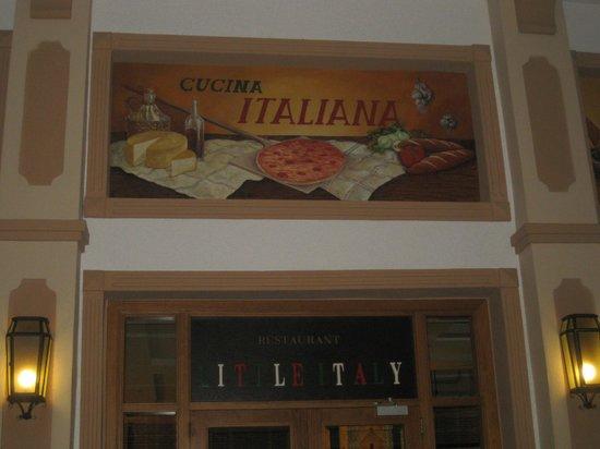 Hotel Riu Montego Bay: Italian food