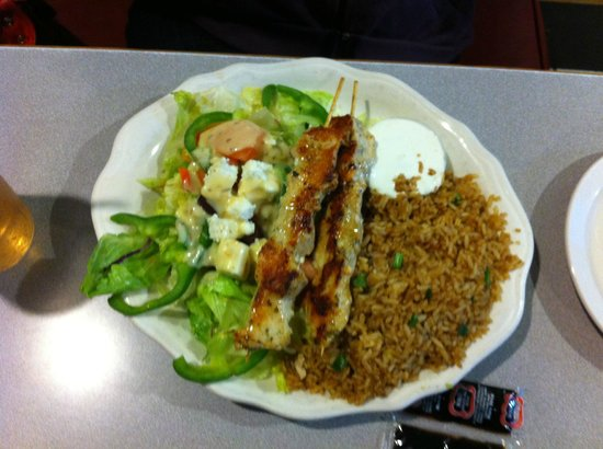 Five Star Restaurant: Very good souvlaki