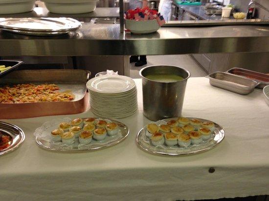 Hotel Waldhaus : Vorbildliche Mise en place