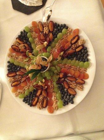 Hotel Waldhaus: Spezieller Buffet Teller