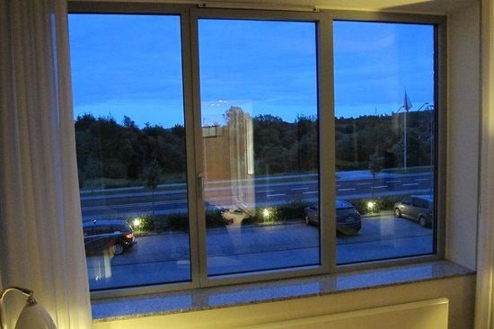 Hotel Opus Horsens: Utsikt från rummet