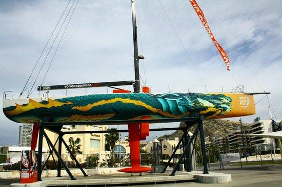 O Black Pearl, integrado no Museo Volvo Ocean Race