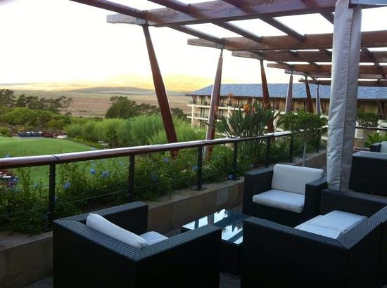 Arabella Hotel & Spa: great views