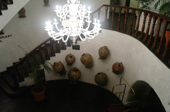 La Hacienda Miraflores: Decoracion ad hoc de la cultura Inca