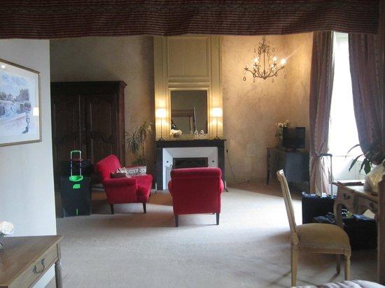 Chateau des Arpentis: Sitting area