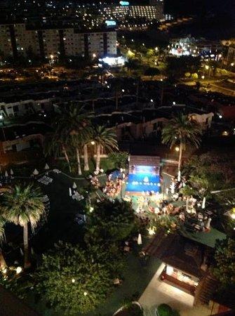 TRYP Tenerife: view from balcony