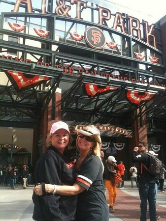 Chancellor Hotel on Union Square: At the Game, Chancellor Hotel Seats are great