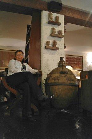 La Hacienda Miraflores: En la recepción