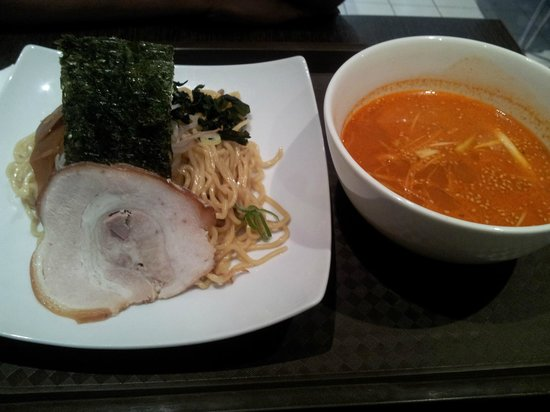 Nao Japanese Restaurant: Cold Ramen with Spicy soup