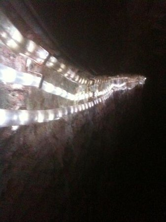 Underground Passages: along the tunnel