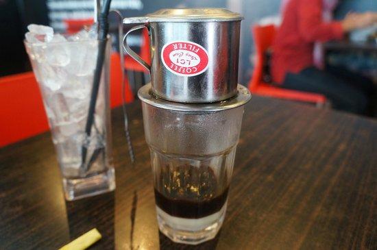 Peppermint the vietnamese restaurant: Vietnam coffee