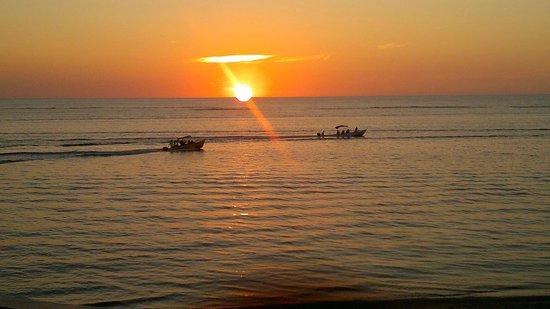 Sueno Del Mar Resort: atardecer romantica
