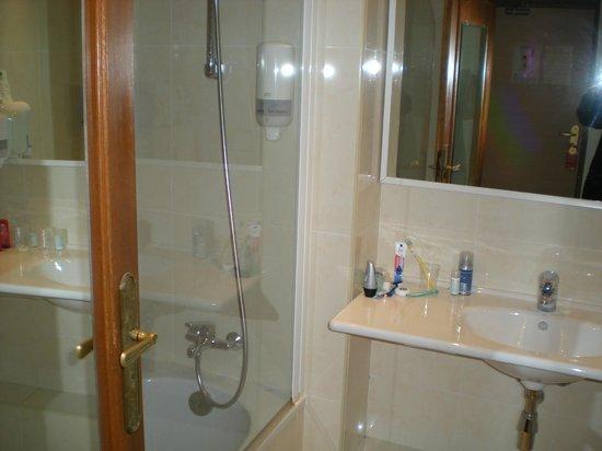 Massenet Hotel : Bathroom