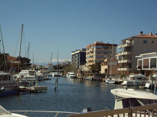 Hotel Portofino: catamarami lungo i canali