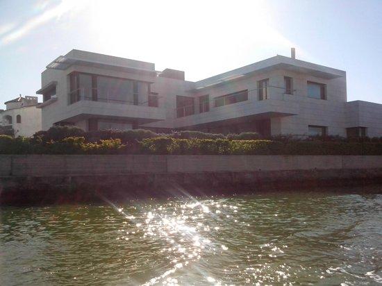 Hotel Portofino: villette tipiche lungo i canali