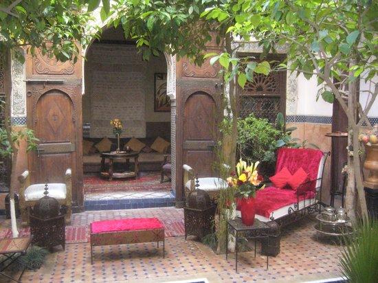 Riad Jenaï : Le patio