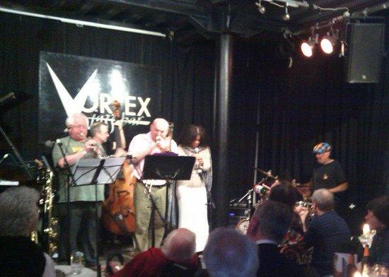 The Vortex: Louis Moholo octet at Vortex Club