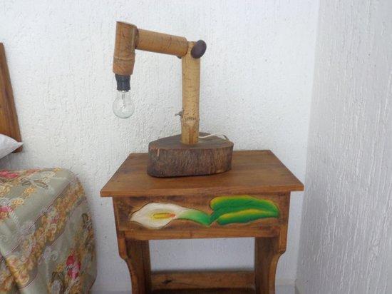 Villa Tulum: Velador artesanal