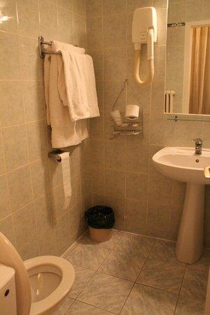 Hotel du Square d'Anvers : Bathroom with bath-tube