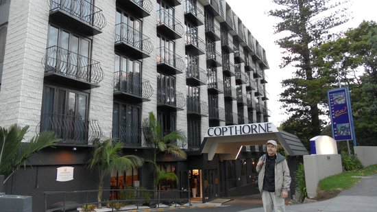 Copthorne Hotel Auckland City: Entrance