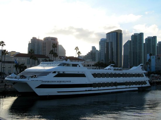 Inspiration Hornblower Is The Largest Dinner Cruise Ship In San - Cruise ships in san diego